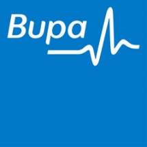 Logo for BUPA
