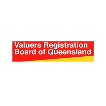 Logo for Valuers Registration Board of Queensland accreditation