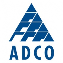 Logo for ADCO construction