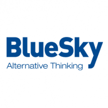 Logo for BlueSky
