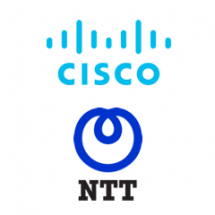 Logo for CISCO/NTT