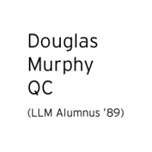 Logo for Douglas Murphy QC