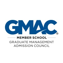 Logo for GMAC accreditation