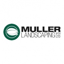 Logo for Muller landscaping