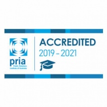 Logo for PRIA - accredited